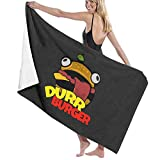 U/K Durr Burger - Toalla de baño (secado rápido)