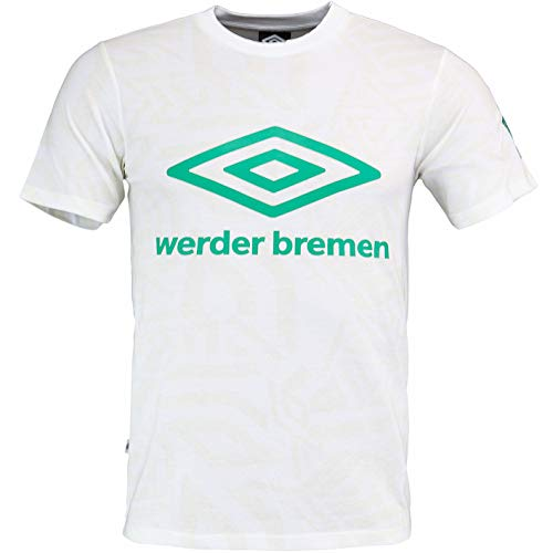 Werder Bremen Poolside Diamond - Camiseta (134), color blanco