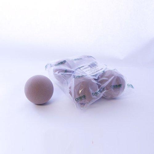 Oasis - Balle mousse sèche pour fleurs séchées artificielles en soie - Art topiaire mariage SEC 12cm X5