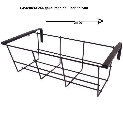 Vendilo Balconnière réglable mec 50 cm.