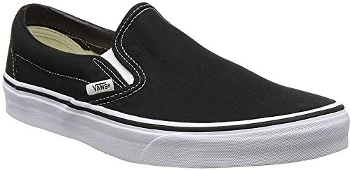 Vans Unisex-Erwachsene Classic Slip-On Low-Top, Schwarz (Black BLK), 39 EU