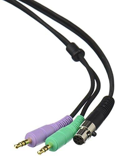 AKG Pro Audio MK HS MiniJack Abnehmbares Kabel für HSC/HSD Headsets mit zwei 3,5 mm Stereo-Klinkensteckern