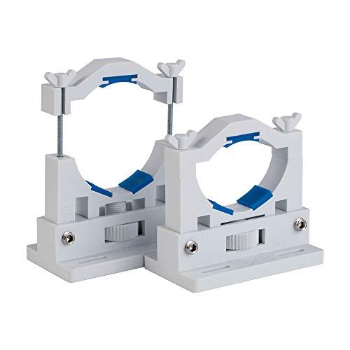 Support de Tube Laser CO2 Cloudray Diam.50-80 mm Flexible 2 pièces pour 50-180W Machine de découpe de gravure Laser modèle A