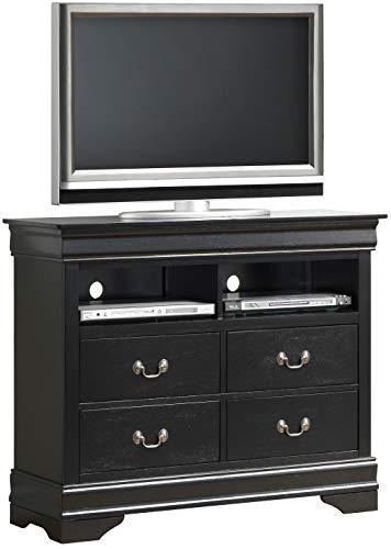 Glory Furniture Media Chest, Black