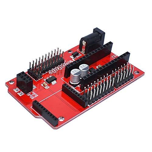 ZTSHBK 1 STÜCK Arduino Nano 328P IO Shield Erweiterungskarte Drahtlose Xbee-Buchse