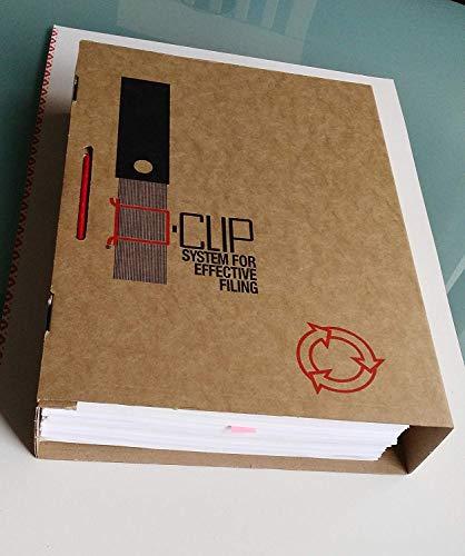 25er D-Clip & Case Archivierungssystem Aktendulli Archivclip Archivbügel