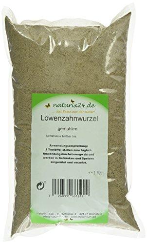 Naturix24 Löwenzahnwurzel gemahlen, 1er Pack (1 x 1 kg)