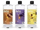Bioethanol Scented Liquid Fuel Eco Line Premium Grade Quality, Clean Burn 1L Containers (Lavender, 1L)