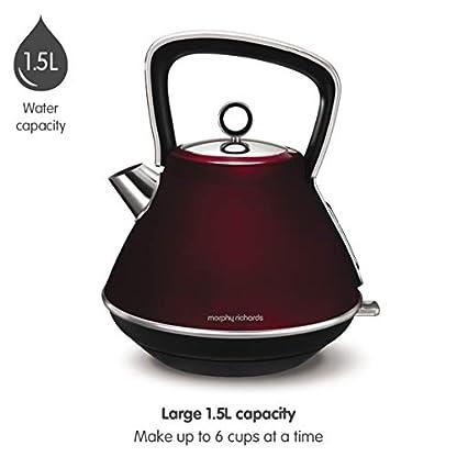 Morphy-Richards-Wasserkocher-evozieren-Pyramidenkessel-100108-Traditioneller-Wasserkocher-Rot
