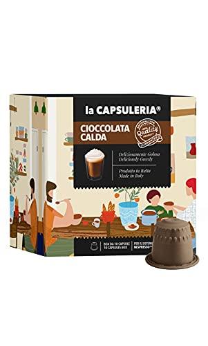 La Capsuleria - Capsule compatibili NESPRESSO - CIOCCOLATA CALDA (80 Capsule)