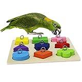 RYPET Juguete de Campanilla para pájaros, Campanilla para pájaros, Jaula de Loros, jaulas africanas, cacatúas Grises