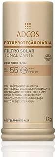Adcos Filtro Solar Tonalizante FPS 55 Base Stick Ivory 12g