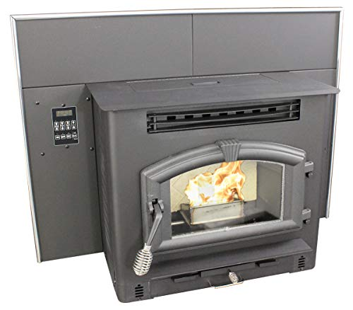 US Stove 6041I Pellet or Corn Insert with Igniter Furnace