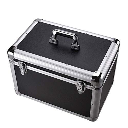 Ligero y conveniente, esencial para viajes en casa Médico Kit de primeros auxilios, cuadro de diagnóstico de aleación de aluminio completo, caja de rescate Caja de emergencia de automóviles multifunci