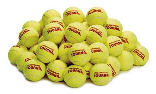Tourna Pressureless Tennis Ball 60 Count (Pack of 1)
