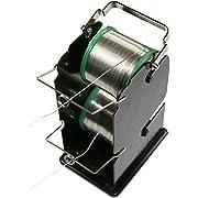 Solder Reel Stand, Black, Dual Spool