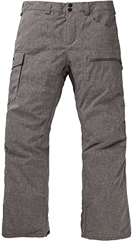 Burton Mens Covert Insulated Pant, Bog Heather New, Medium