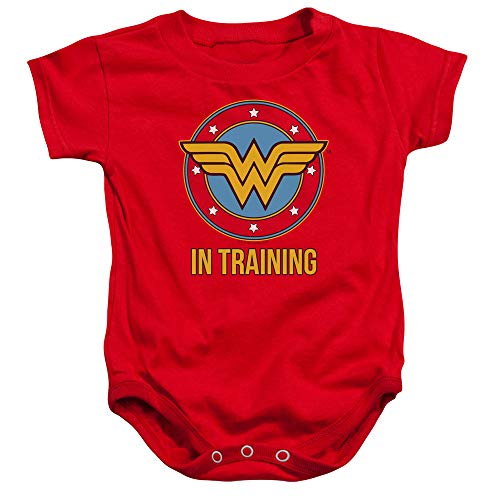 Wonder Woman WW in Training Baby Onesie Bodysuit, 6 Months