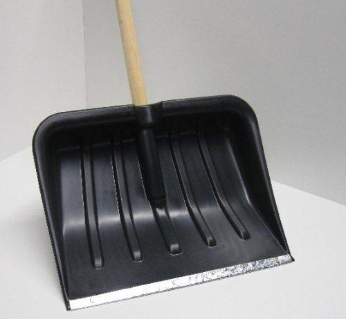 Schneeschaufel, Schneeschieber Lawinenschaufel Schaufel mit Stahlkante - 5