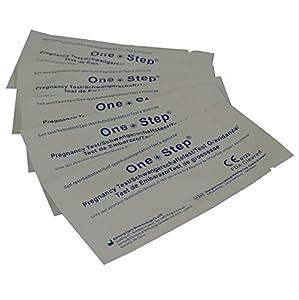 One Step - 10 Pruebas de Embarazo 10 mIU/ml Formato 3,5 mm.