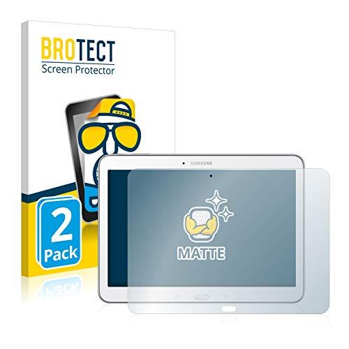 BROTECT 2X Entspiegelungs-Schutzfolie kompatibel mit Samsung Galaxy Tab 4 10.1 SM-T530 Bildschirmschutz-Folie Matt, Anti-Reflex, Anti-Fingerprint