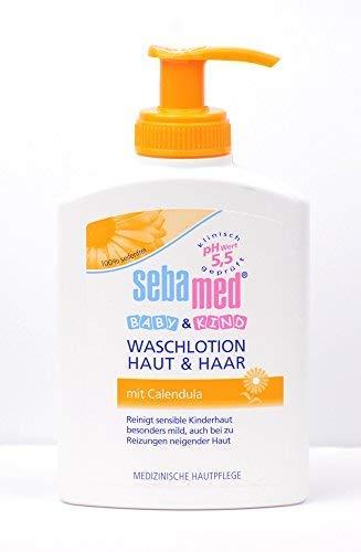Sebamed Baby & Kind Waschlotion mit Calendula, 200 ml