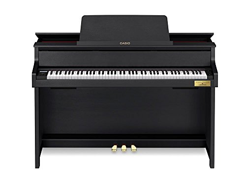 Casio gp-300bk Digitalpiano E–Tastatur (schwarz,-12–12achten (S), AC)