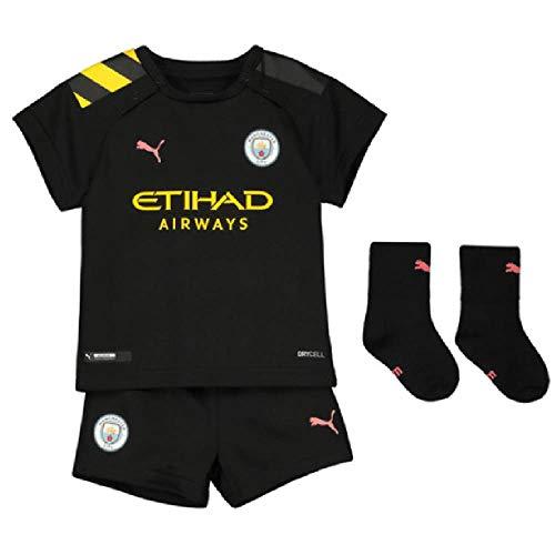 Puma Manchester City 2019/20 - Balón de fútbol para niños, color negro Negro Negro ( 9-12 Meses