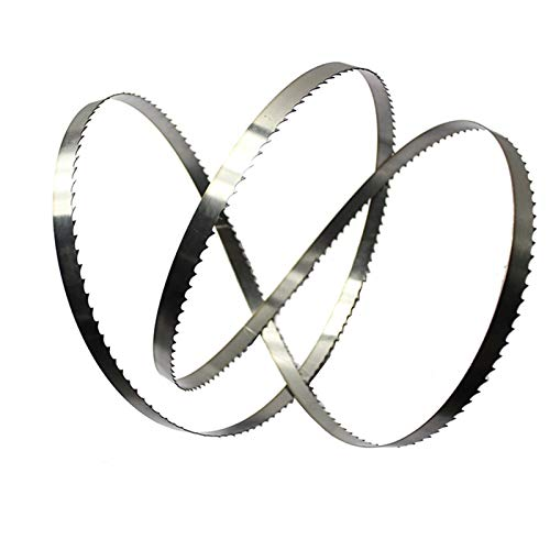 WNJ-TOOL, 3PC importierte Material Holzbearbeitungsbandsägeblätter zum Schneiden von Hartholz Multitool für Holzschneidband-Sägemaschine (Größe : 1712x16x0.5mmx6Tpi)