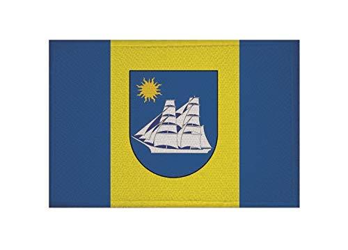 U24 Aufnäher Wustrow (Fischland) Fahne Flagge Aufbügler Patch 9 x 6 cm