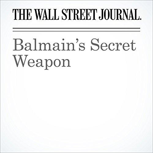 Balmain's Secret Weapon cover art