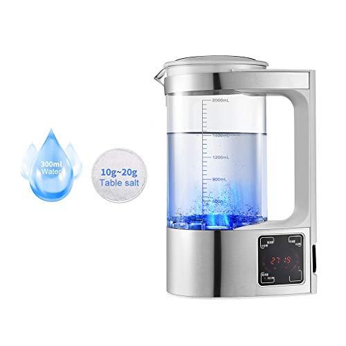 LAYX Hypochlorsäure Wasserbereiter, Haushalt Desinfektionsmittel Herstellung Maschine Salz- Und Wasserelektrolyse Flasche, Keimtötende Desodorierenden Reiniger Desinfektions-Maschine