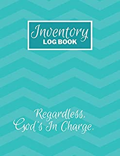 Inventory Log Book: Mint Green Paperback Cover 120 Pages Simple Inventory Log Book For Use At Home And For Small Business ...