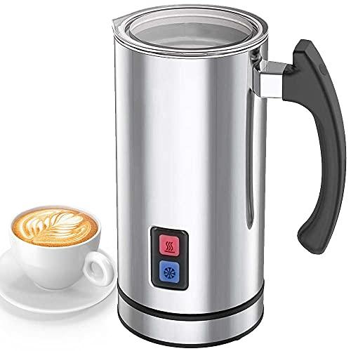 Bakaji Montalatte Elettrico Schiumatore Schiuma Latte per Cappuccino Funzione Caldo e Freddo...