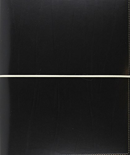 Filofax A5 Domino Black Organiser, 2018