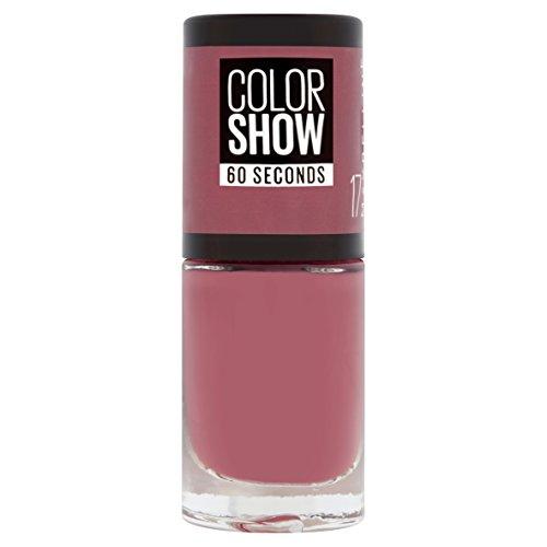Gemey Maybelline ColorshowNagellack, 17Smoky Pink–dunkles Altrosa