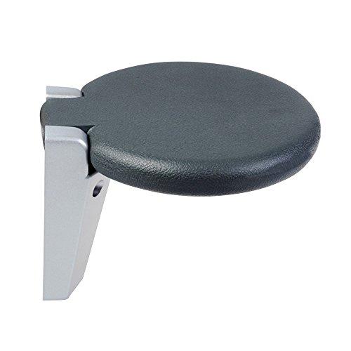 Folding Wall/Senior Shower Chair/Aluminum Wall Chair/Round Wall Stool/Bath Tub Stool/Aisle Chair/Wall-Changing Wall Chair/Multi-Function Folding Stool/Loading Capacity 130KG/300265mm