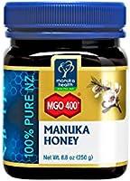 Manuka Health - Manuka Honig MGO - 100% Pur aus Neuseeland mit zertifiziertem Methylglyoxal Gehalt