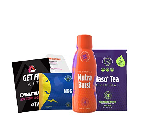 Total Life Changes 30303 Get Fit Kit (NRG, Nutraburst,Iaso Tea) 1 Month Supply