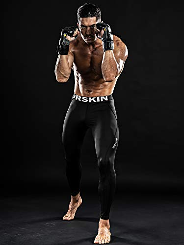 DRSKIN Compression Cool Dry Sports Tights Pants Baselayer Running Leggings Yoga Rashguard Men