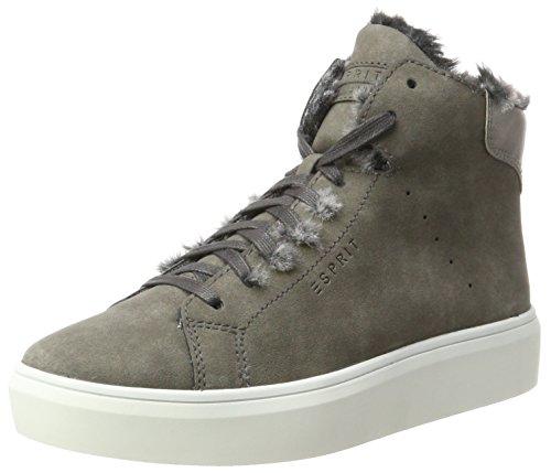 ESPRIT Damen Elda Bootie Hohe Sneaker, Grau (Grey), 37 EU