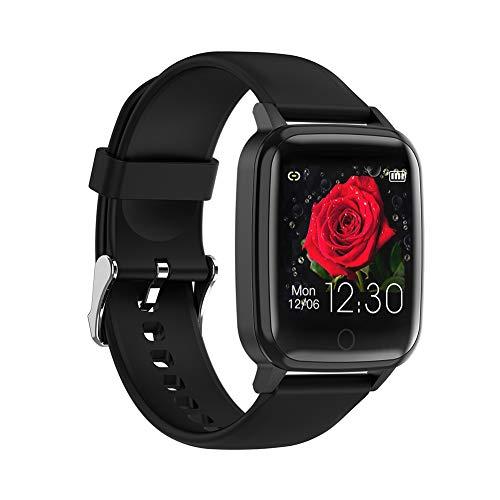 Harddo Fitnessuhr, 1,3-Zoll-Fitness-Tracker-Touchscreen Smartwatch wasserdichte Fitnessuhr mit Herzfrequenz-Blutdruck-Schlafüberwachung Weiblicher physiologischer Zyklus-Wecker