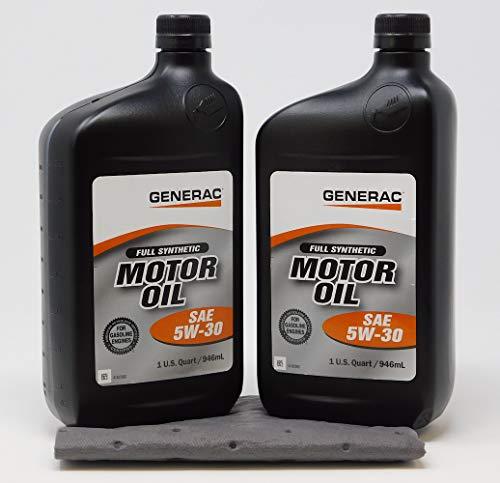 Generac Full Synthetic Motor Oil 5W-30...