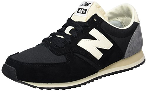 New Balance Herren 420 70s Running Sneakers, Mehrfarbig (Black/White/Grey), 40 EU