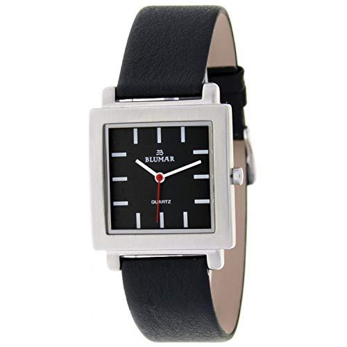 Blumar Bl-09447 Reloj Analogico para Hombre Caja De Metal Esfera Color Negro