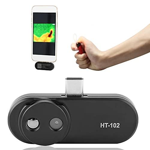 HT-102 Negro USB Cámara termográfica termográfica para teléfonos móviles Cámara termográfica para teléfonos Android Negro