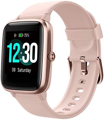 Letsfit Smart Watch, Fitness Tracker mit Herzfrequenzmesser, Activity Tracker mit 1,3