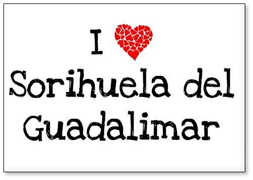 Mundus Souvenirs - Amo Sorihuela del Guadalimar, Imán para Nevera (diseño 2)