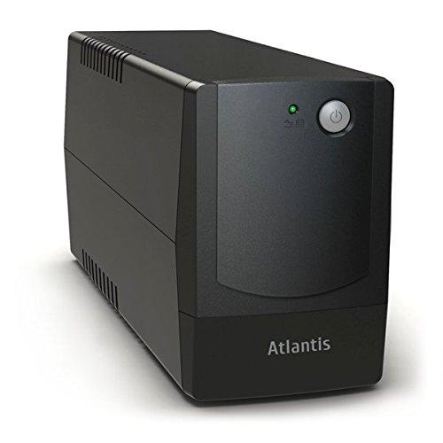 Atlantis OnePower 841+, UPS Line Interactive 1100VA/550W, AVR (3 stadi), Onda PseudoiSinusoidale, 4 prese IEC, 1 Batteria 12V 9Ah, Software ViewPower scaricabile gratuitamente