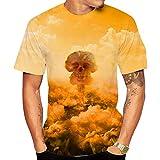 SSBZYES Camiseta para Hombre, Camiseta De Verano De Manga Corta para Hombre, Camiseta Estampada con Cuello Redondo para Hombre, Camiseta De Gran Tamaño para Hombre, Camiseta De Moda para Pareja